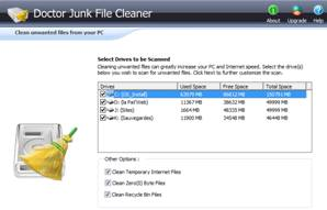 PC Health Optimizer Junk File Cleaner