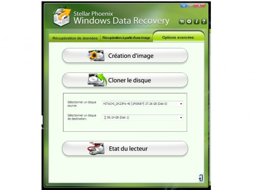 r cup ration de donn es avec stellar phoenix windows data recovery tplpc com. Black Bedroom Furniture Sets. Home Design Ideas