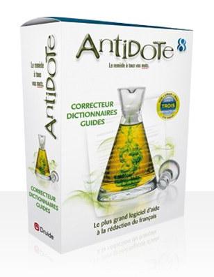 Correcteur orthographique Antidote 8
