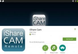 Installation iShare Cam