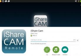 Installation iShare Cam téléchargement