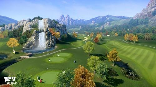 jeu de golf winning putt