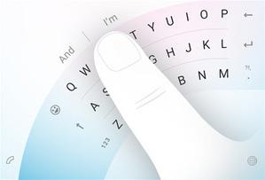 Clavier Microsoft Word Flow