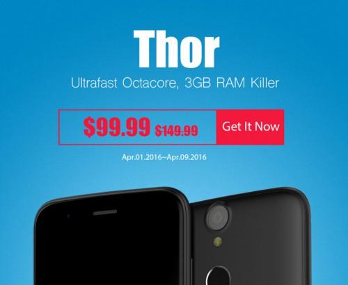 Promo Vernee Thor