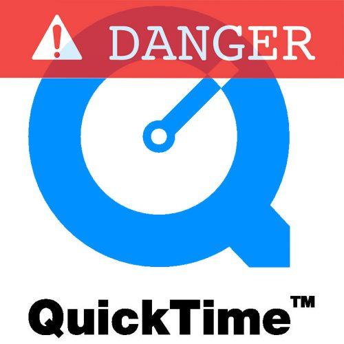 quicktime dangereux