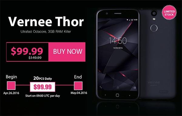 Vernee Thor Promo