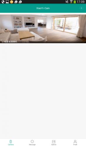 XiaoYi Cam Configuration 6