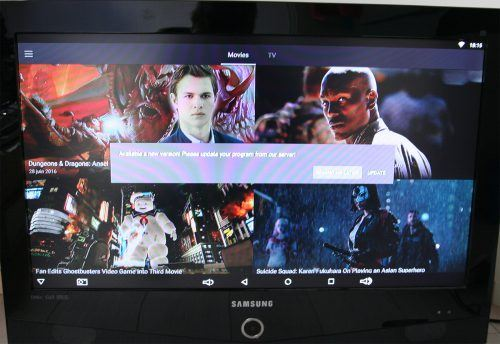 box TV Sunvell Q-Box update