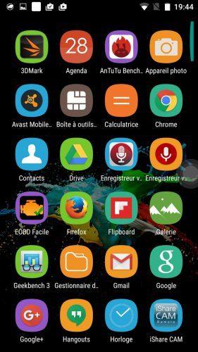 Screenshot Oukitel K6000 Pro