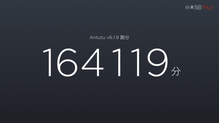 mi5s plus antutu score 164119