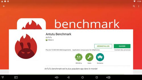 Amtutu benchmark box tv T95ZZ