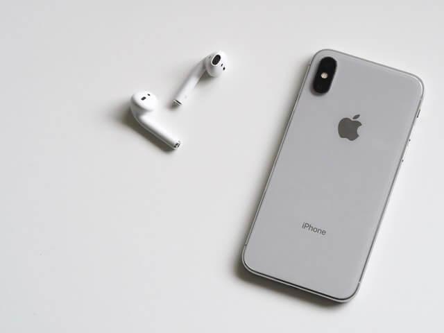 écouteurs iphone x