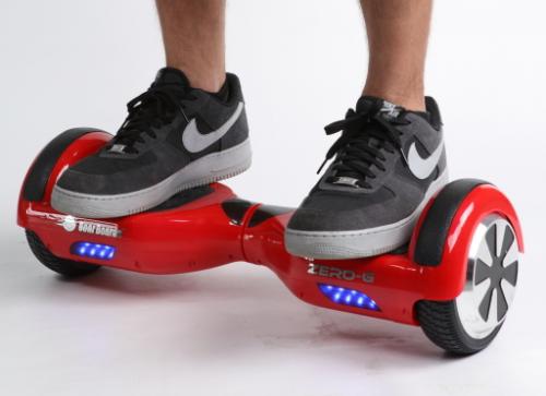 two wheeled board