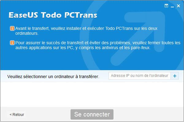 transfert réseau